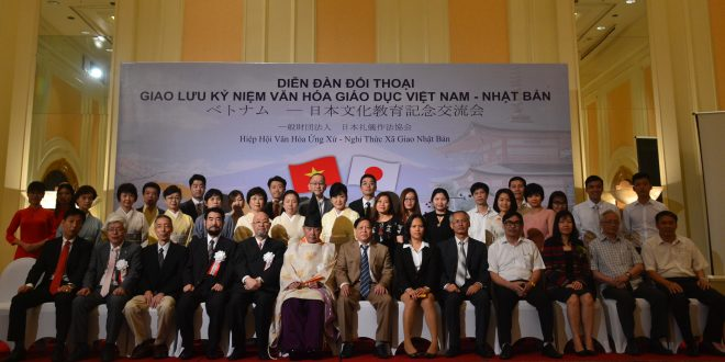Diễn đàn đối thoại giao lưu văn hóa Viêt Nam – Nhật Bản